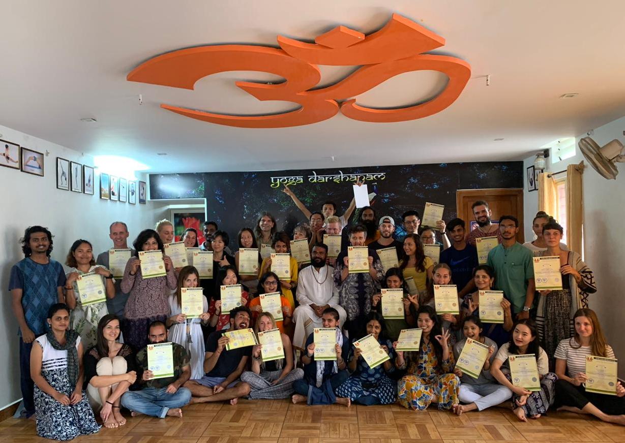 Certificação Yogadarshanam (500Hrs-AYTTC)