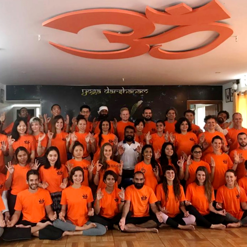 Certificação Yogadarshanam (Orange Batch)